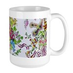Marie Antoinette's Boudoir Large Mug