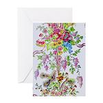 Marie Antoinette's Boudoir Greeting Card