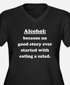 Alcohol Plus Size T-Shirt
