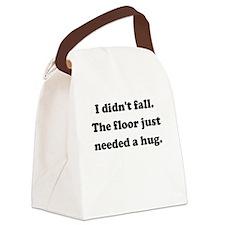 Floor Hug Canvas Lunch Bag