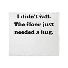 Floor Hug Throw Blanket
