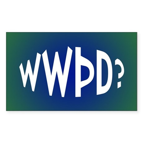 What Would Thor Do? Rectangle Sticker