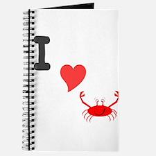 I (heart) crab Journal