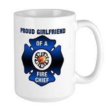 Fire Chief Proud Girlfriend Mug