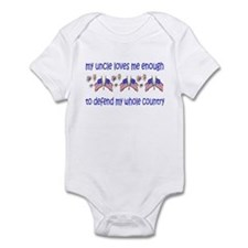 Uncle-Defend My Whole Country Infant Bodysuit