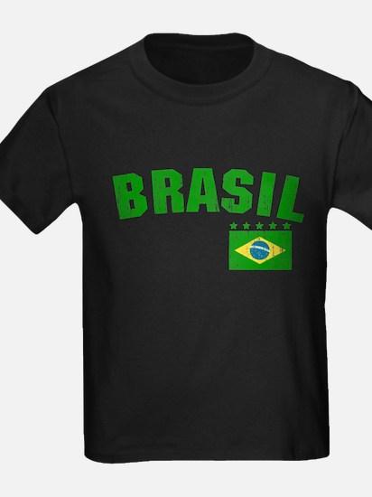 BRAZIL-BLACK-worn T-Shirt