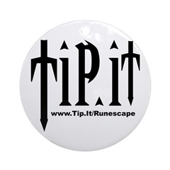Tip.It Design Ornament (Round)
