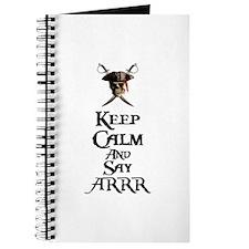 Keep Calm Say ARRR Journal