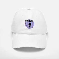 Poodle Stripe Baseball Baseball Cap