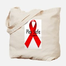 Play Safe -Be Aware Tote Bag