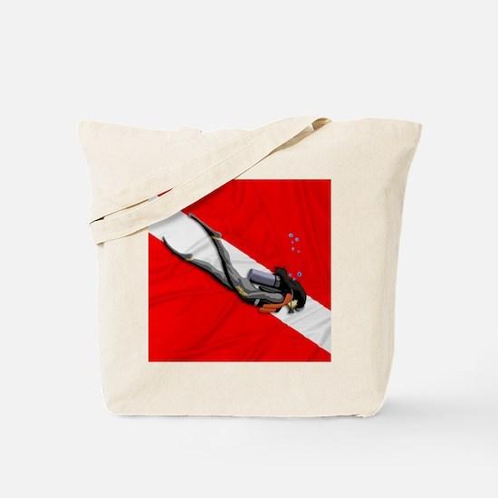 Dive Flag Tote Bag