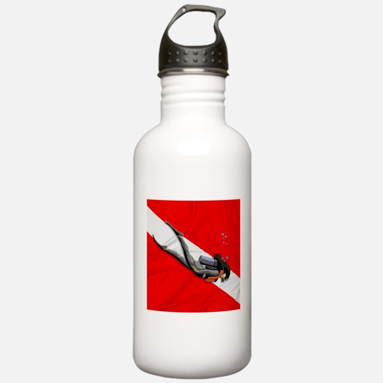 Dive Flag Water Bottle