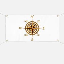 Vintage Compass Rose Banner