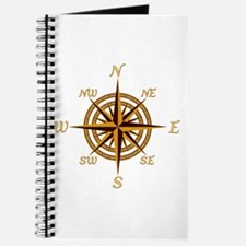 Vintage Compass Rose Journal
