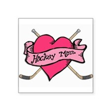 Hockey Valentine Rectangle Sticker