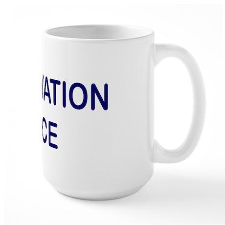 Preservation Police Large Mug