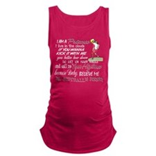 Softball's Finest Maternity Tank Top