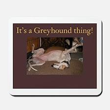 Greyhound Thing Mousepad
