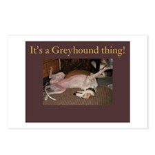 Greyhound Thing Postcards (Package of 8)