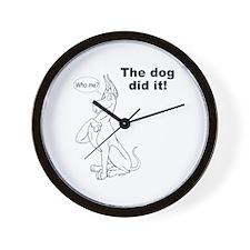 C Didit Wall Clock