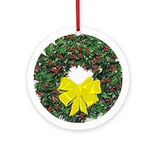 Wreath Ornament (Round)