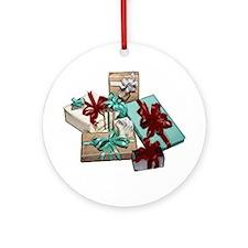 Presents Ornament (Round)