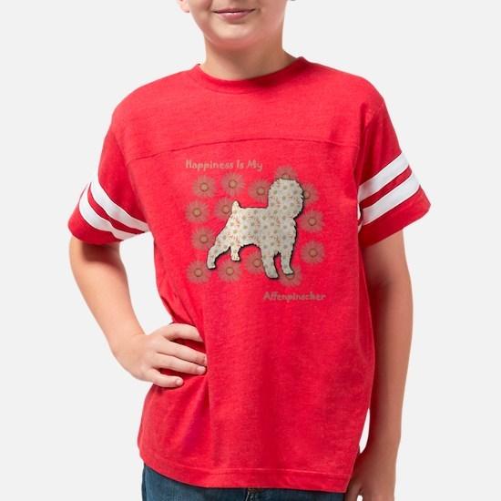 Affenpinscher Youth Football Shirt