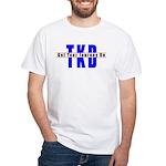 Tae Kwon Do Journey White T-Shirt