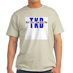 Tae Kwon Do Journey Ash Grey T-Shirt
