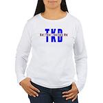 Tae Kwon Do Journey Women's Long Sleeve T-Shirt