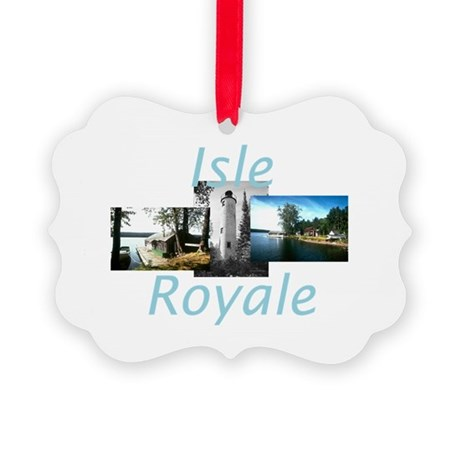ABH Isle Royale Picture Ornament