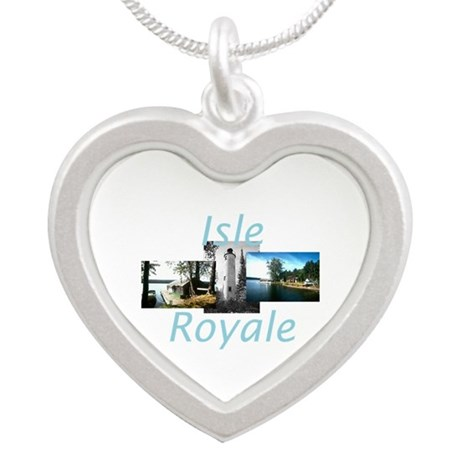 ABH Isle Royale Silver Heart Necklace