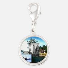 ABH Isle Royale Silver Round Charm