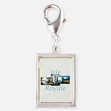 ABH Isle Royale Silver Portrait Charm