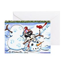 Schanzuer Snow Day Greeting Card