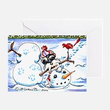 Schanzuer Snow Day Greeting Card