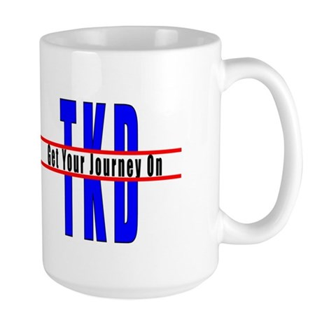 Tae Kwon Do Journey Large Mug