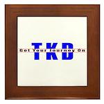 Tae Kwon Do Journey Framed Tile
