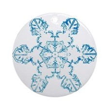 Flake Ornament (Round)