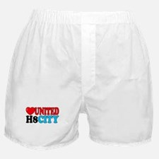 Love United H8 City Boxer Shorts