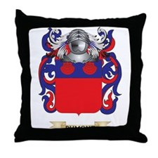 Dumont Coat of Arms Throw Pillow