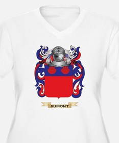 Dumont Coat of Arms Plus Size T-Shirt