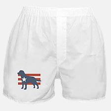 Patriotic Labrador Retriever Boxer Shorts