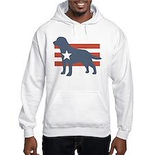 Patriotic Labrador Retriever Hoodie