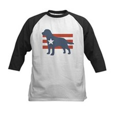 Patriotic Labrador Retriever Tee