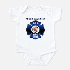 Fire Chiefs Daughter Infant Bodysuit