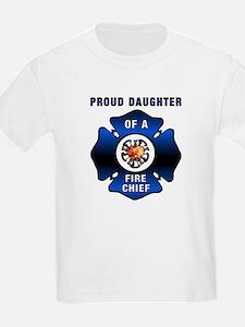 Fire Chiefs Daughter T-Shirt