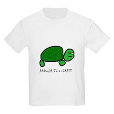 Pirate Turtle Kids T-Shirt