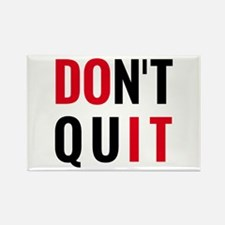do it, don't quit, motivational text design Rectan