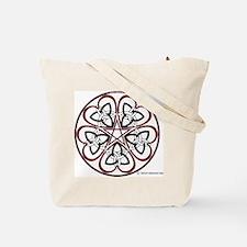 Triquatra Heart Tote Bag